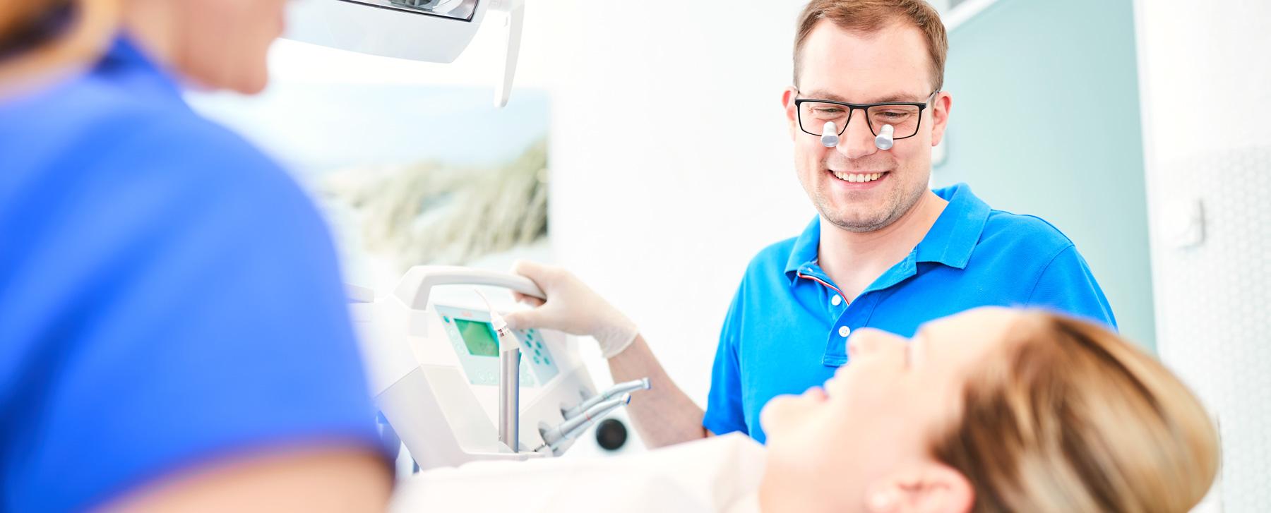 Zahnarzt Dr. Schraivogel - Behandlung 1
