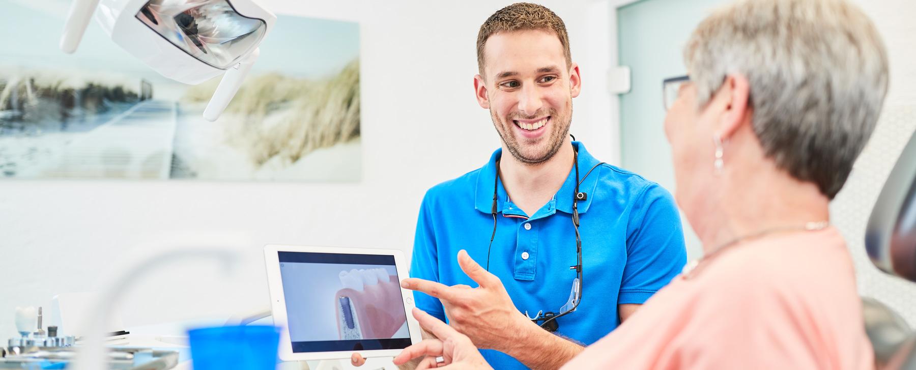 Zahnarzt Dr. Schraivogel - Behandlung 4